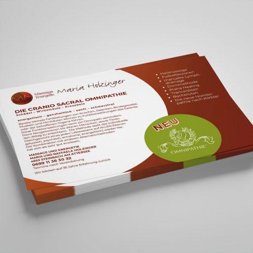 Drucksortengestaltung Flyer - by Lichtgrün - Design & Photo, Linda Mayr Mondsee