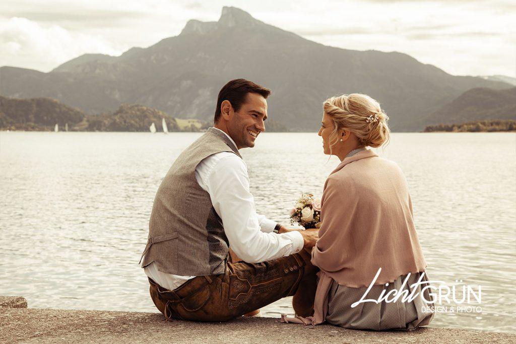 Wedding Shooting - by Lichtgrün - Design & Photo, Linda Mayr - Mondsee
