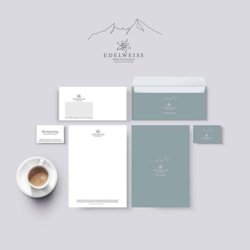 Drucksorten, Visitenkarte, Logo, Briefpapier, Kuverts - by Lichtgrün - Linda Mayr Mondsee